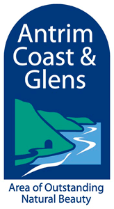 Antrim Coast & Glens AONB logo