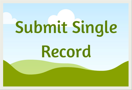 Submit single record